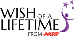 Wish of a Lifetime from AARP logo